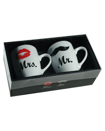 Taza de Porcelana Mr. &...