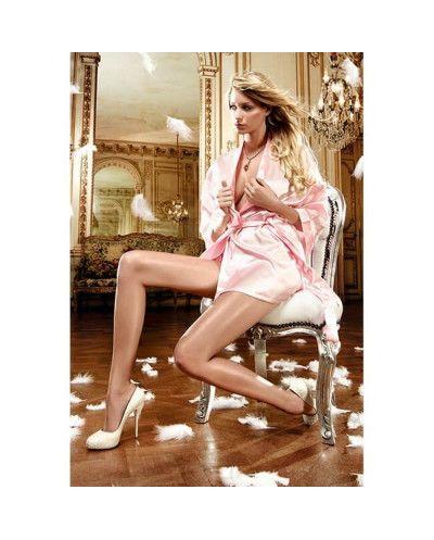 Satin Kimono Pink Talla...