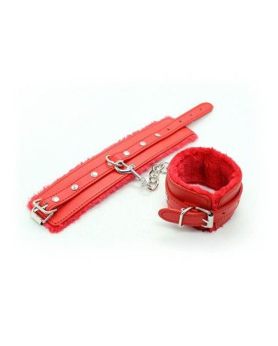 Soft Handcuff Red - Lovelyplay