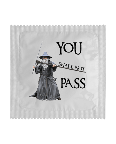 Condón You Shall Not Pass