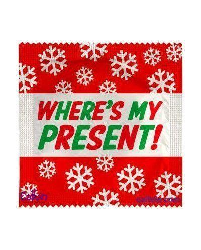 Condón Where's My Present