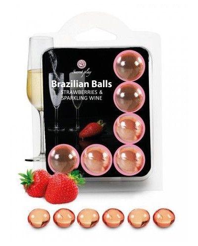 Set 6 Brasilian Balls