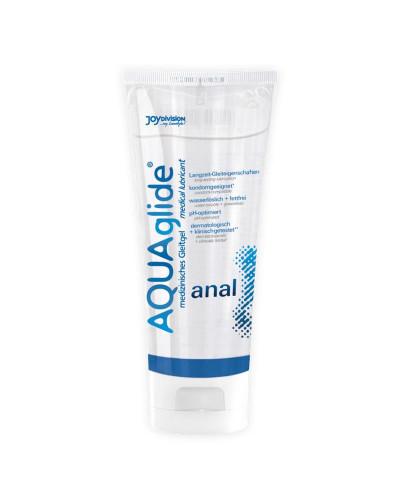 Lubricante anal con base de agua de Aquaglide