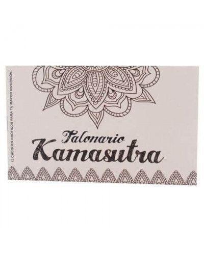 Talonario Kamasutra 12 Cheques