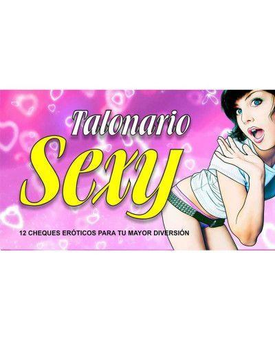 Talonario Sexy 12 Cheques