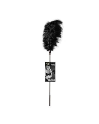 Plumero Gp Largo Feather Tickler Negro 65 Cm - Guilty...