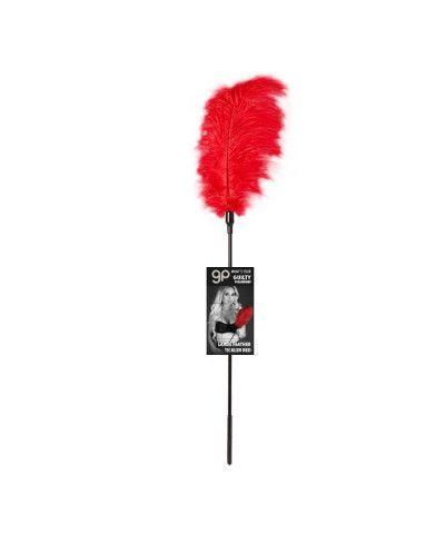 Plumero Gp Largo Feather Tickler Rojo 65 Cm - Guilty...